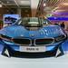 BMW i8 at the Frankfurt Airport