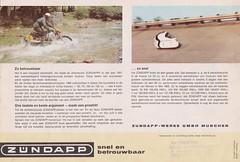ZUNDAPP Bromfiets Dealer Brochure Model Super Combinette De Luxe, KS 50 Sport en KS 100 (Holland 1965)_8 (MarkAmsterdam) Tags: england bike shop tricycle engeland fiets bycicle manufacturer cycly fietsenmaker fietsenfabrikant