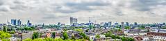 Panorama skyline Rotterdam (Patrick Herzberg) Tags: panorama holland skyline rotterdam nikon nederland architectuur euromast erasmusbrug landschap gebouw erasmusmc groothandelsgebouw d5200