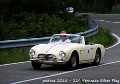 DSC_6592 - Maserati 150 GT - 1957 - Mohringer Andreas (pietroz) Tags: silver photo foto photos flag historic fotos pietro storico zoccola 21 storiche vernasca pietroz