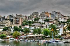 Just. (anastase.papoortzis) Tags: ocean city mediterranean cityscape hellas greece macedonia romantic kavala grcia mediterrneo