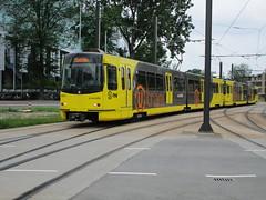 U-OV tram 5023 Utrecht CS (Arthur-A) Tags: netherlands utrecht nederland tram bn streetcar tramway strassenbahn electrico tranvia tramvia uov qbuzz
