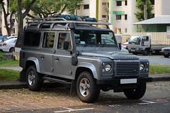 Land Rover Defender 110 Hardtop 2.2 (nighteye) Tags: hardtop car 22 singapore 110 landrover defender