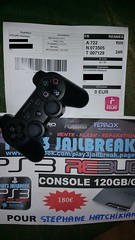 20160625_060632 (play3jailbreak) Tags: france slim relay dex commander stephane play3 mondial jailbreak manette ps3 475 120gb achat envoi acheter rebug hatchikian