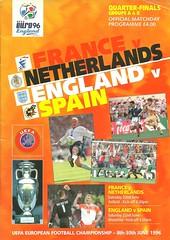 Euro 96 Quarter Finals A (tcbuzz) Tags: england london liverpool european stadium euro finals quarter championships uefa wembley 96 programme anfield
