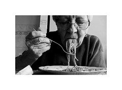 western (Marek Pupk) Tags: blackandwhite bw film monochrome analog canon europe central documentary slovakia spaghetti a2