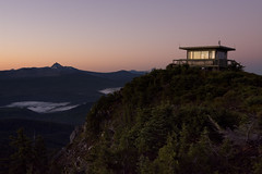 Room With A View  *Explore* (gwendolyn.allsop) Tags: mountains oregon sunrise fire lookout hike d5200