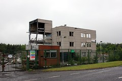 Livingston village. (boneytongue) Tags: west closed village state printing owned demolished livingston lothian privatised