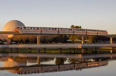 Monorail Monday L - Volume 6 (DugJax) Tags: monorail waltdisneyworld epcotcenter spaceshipearth futureworld ef24105mmf4lisusm monorailcoral canonrebelt2i