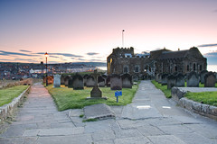 Searching for Dracula. (paul downing) Tags: sunset nikon dracula whitby 12 filters stmaryschurch hitech bramstoker gnd pd1001 pauldowning d7200 pauldowningphotography