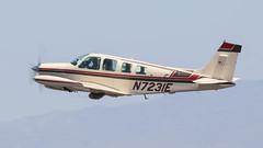 Beech A36 Bonanza N7231E (ChrisK48) Tags: 1985 36 aircraft airplane beecha36 beechcraft bonanza dvt kdvt n7231e phoenixaz phoenixdeervalleyairport