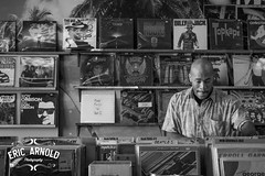 Black and White Monday #28 (Eric Arnold Photography) Tags: vegas blackandwhite bw white man black records guy store lasvegas digging album charleston albums lp record crate digger crates rsd lps recordcity blackandwhitemonday