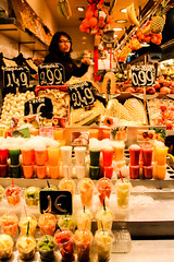 Mercat de la boqueria (annaregina342) Tags: barcelona trip travel sunset food mercatdelaboqueria