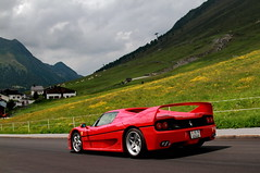 F-Fifty (D.N. Photography) Tags: ferrari f50 supercars supercar automotive auto automobile automobiles austria khtai tirol transportation road alps alpine canon cars car eos exotic exotics worldcars outdoor vehicle vehicles 7d flowers mountain mountains