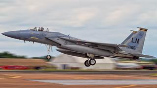 Riat Arrivals - Lakenheath F15