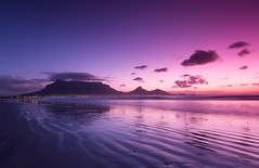 Cape Town Sunset (Jim Boud) Tags: ocean africa travel mountain beach canon landscape southafrica capetown fullframe dslr tablemountain waterscape 6d westerncape eos6d jimboud canoneos6d jamesboud