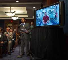 Senate Commerce Briefing With ISS (201305070005HQ) (NASA HQ PHOTO) Tags: usa dc washington places astronaut nasa uscapitol senate uscapitolbuilding internationalspacestationiss billingalls tommarshburn