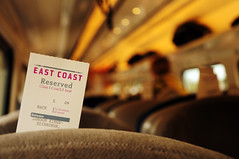 East Coast - Reserved (Picardo2009) Tags: uk england london station train tren scotland edinburgh cross britain great kings seats reserved edinburgo asientos icapture flickraward great nikonflickraward