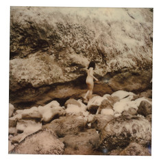 (ecotono) Tags: nature girl nude polaroid sx70 human ecoto