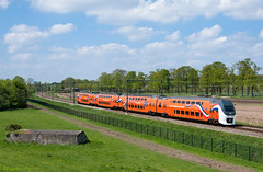9520 Vechten (Maarten Otto) Tags: alexander beatrix lente trein willem nsr 2013 9520 konings koningstrein