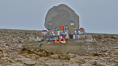 Tom Simpson memorial, Mont Ventoux, France (sbally1) Tags: france memorial 1967 tourdefrance letour montventoux tomsimpson putmebackonmybike