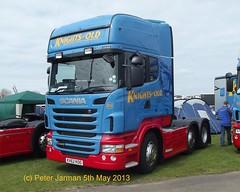KV62 KOO (PeterJarman2001) Tags: old tractor knights sir peterborough scania unit koo truckfest kv62 gauter r440