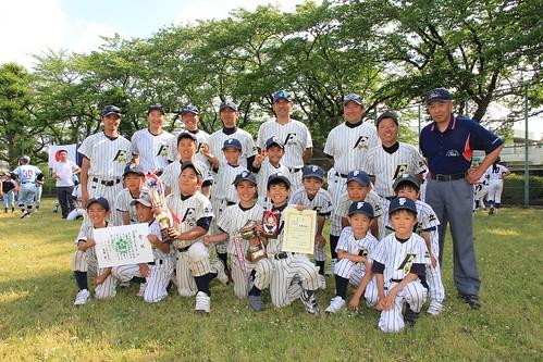 《3部》2013年度 立川市少年野球連盟 春季大会 準優勝