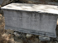 033 - Inscribed tomb (Scott Shetrone) Tags: other graveyards events places athens greece 5th kerameikos anniversaries