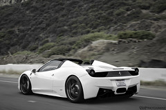 458 Spider. (Charlie Davis Photography) Tags: