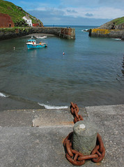 Safe Haven (Messent) Tags: pictures england boats coast haiku harbour pembrokeshire porthgain poetryandpicturesinternational poetryforall