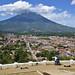 Vista di Antigua dal Cerro de la Cruz