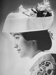 Setsuko Hara in bridal costume