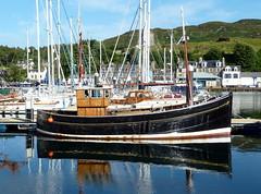 uk greatbritain water lumix scotland boat unitedkingdom argyll panasonic gb stockphoto tarbert lochfyne goldenview argyllandbute 2013 nigelbrown dmctz8 tz8