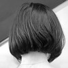 mysterious mystical misstica... (bonnevillekid) Tags: square mono candid boba newhairstyle