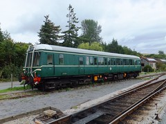 Bubble car W55000 (Hoovering_crompton) Tags: car south railway class devon bubble 122 staverton w55000