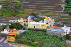 La Gomera (tenerife holidays) Tags: green church rural island spain quiet village natural rustic terraces tropical tropicalisland tradition lush canaryislands agricultural lagomera unspoilt