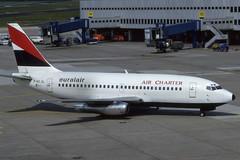 F-GCJL (Euralair-AirCharter) (Steelhead 2010) Tags: boeing b737 freg dus euralair b737200 aircharter fgcjl