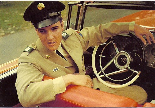 Elvis Presley Post Card