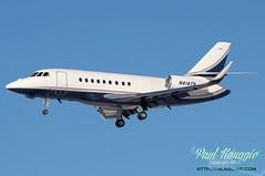 N414TR (PHLAIRLINE.COM) Tags: flight airline falcon planes co philly airlines phl travelers spotting 2007 dassault bizjet indemnity generalaviation spotter philadelphiainternationalairport kphl 2000lx n414tr