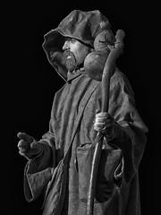 Il pellegrino (The pilgrim) (giudiciluigi) Tags: bw ritratti ritratto luxtop100 mygearandme
