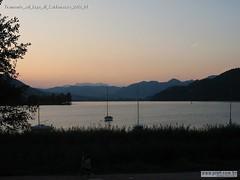 Tramonto sul lago di Caldonazzo 2003 01