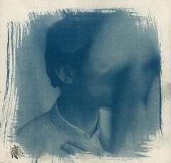 .102 (fiction-worthy wind) Tags: blue red print wine stamp toned cyanotype cya