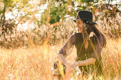 Thinking of warmer days (Joe Grimshaw) Tags: sunset color fall beauty field fashion outdoor faith