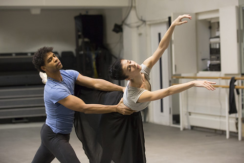Giselle in Rehearsal