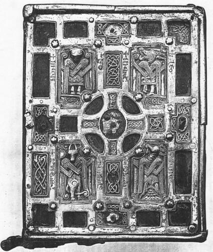 DOC5/498 - Book cover of the Soiscel Molaise, Ireland