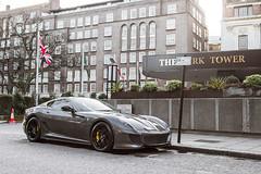 Grey | Ferrari 599 GTO (- Icy J -) Tags: uk england black london grey crazy fast ferrari knightsbridge gto rims s