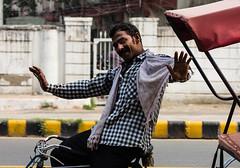 Qutab Road - New Delhi (easdown) Tags: road street new travel india canon asia tricycle delhi south capital national tuktuk region tuk indira rajiv ncr qutab chowk easdown