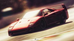 Shining (Jrmy C. (Kodje)) Tags: car automotive ferrari voiture gran 1992 turismo playstation spa gtp gt6 granturismo f40 ps3 spafrancorchamps photomode gtplanet gt6rs