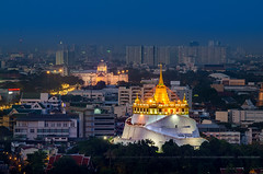The Golden Mount Thailand (ภูเขาทอง) & The Ananta Samakhom Throne Hall (พระที่นั่งอนันตสมาคม)