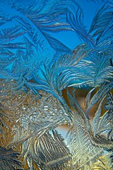 Solace (Broot - Thanks for a half million views!!) Tags: blue winter usa sun ice window nature glass sunshine gold frost pattern crystal maine newengland growth february delicate stgeorge tenantsharbor mygearandme mygearandmepremium mygearandmebronze mygearandmesilver mygearandmegold